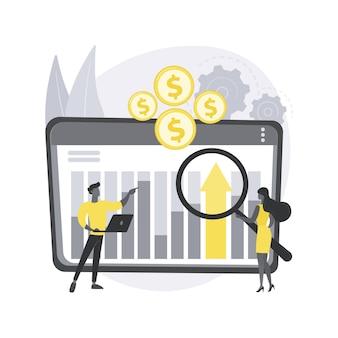 財務管理システム。制御システム、オープンソースソフトウェア、ビジネス管理ツール、財務情報、企業の予算計画。