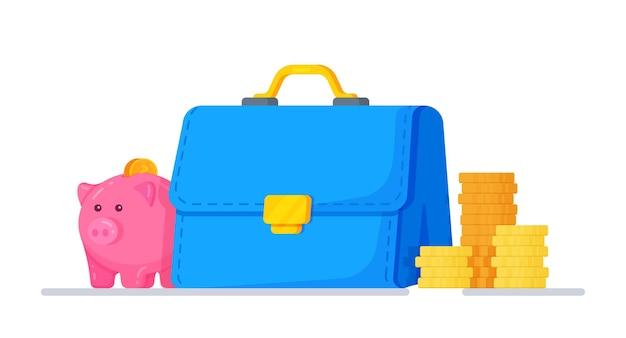 Financial performance schedule spending concept