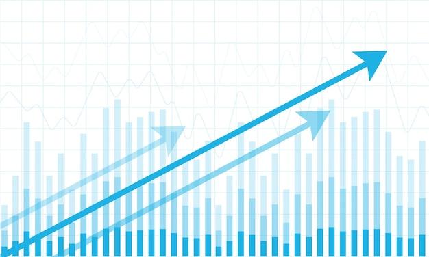 График финансового фондового рынка на фондовом рынке инвестиционной торговли бычья точка медвежья точка тренд