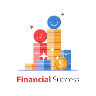Financial success, mutual fund, secure capital investment, revenue increase