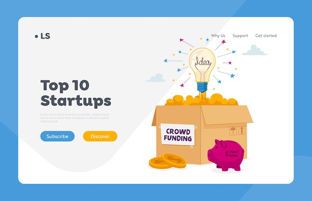 Financial support of creative start up project