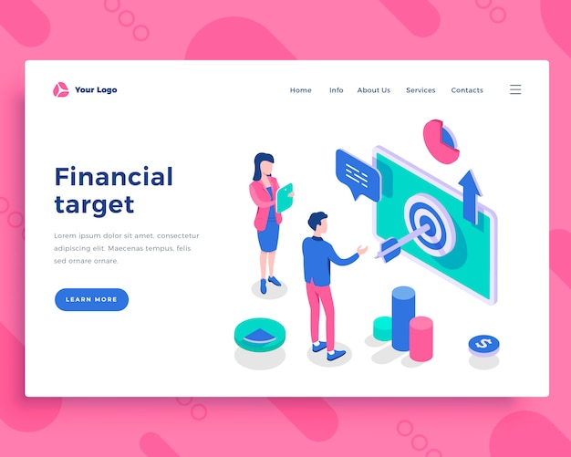 Financial target concept