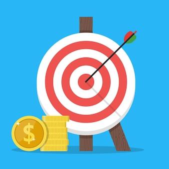Financial target goal