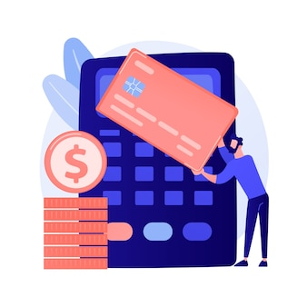 Financial transactions, money operations. payment options, cash and cashless, contactless payment. credit card shopping idea design element.
