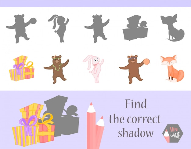 Find the correct shadow