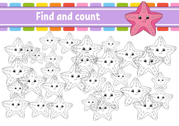 Find and count game.
