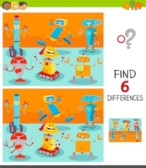 Find differences between pictures game for kids