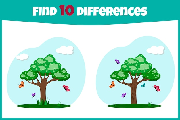 Find the differences.