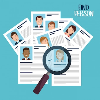 Find person design