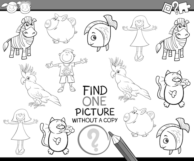 Find single picture game