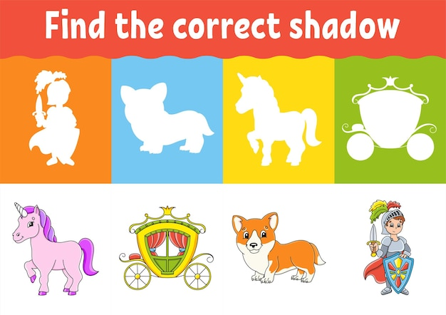Найдите правильный рабочий лист shadow education