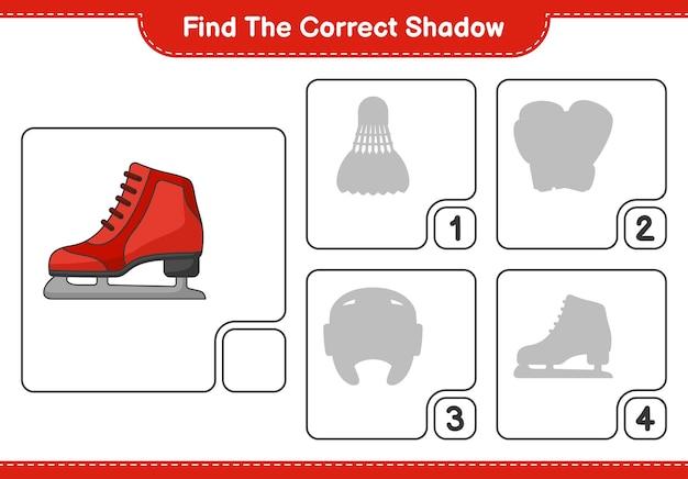 Найдите правильную тень найдите и сопоставьте правильную тень в игре