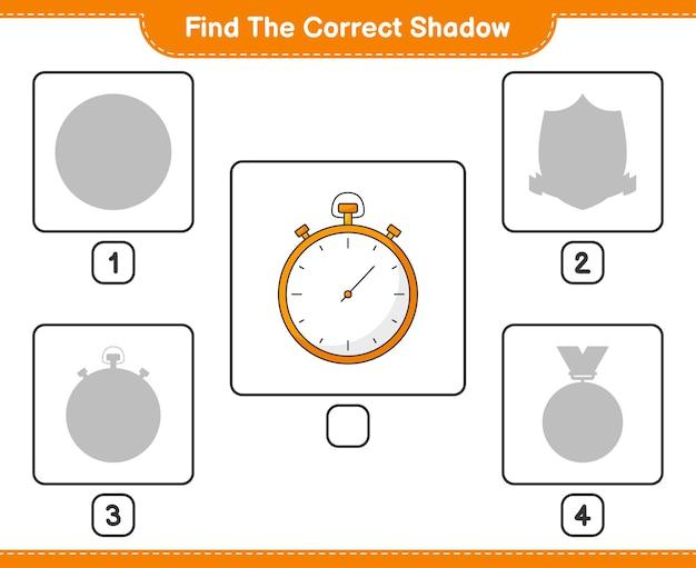 Найдите правильную тень найдите и сопоставьте правильную тень секундомер развивающая детская игра