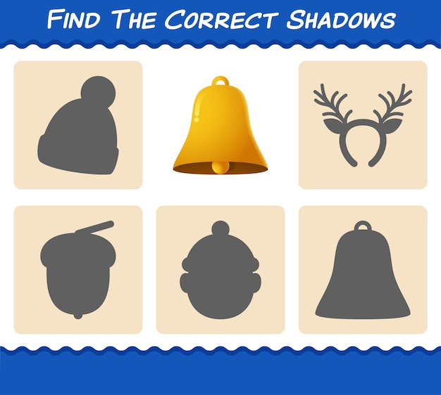 종의 정확한 그림자를 찾으십시오. 찾기 및 짝짓기 게임. 취학 전 아동 및 유아를 위한 교육 게임