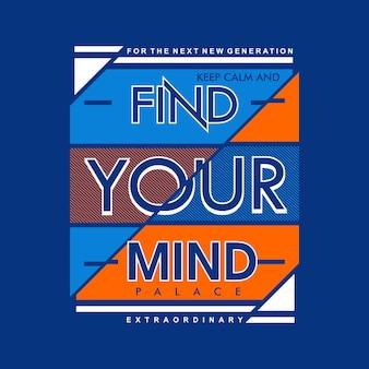 Find your mind slogan