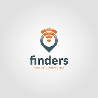 Finders logo template