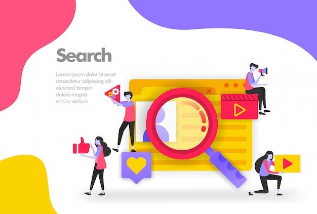 Finding data banner