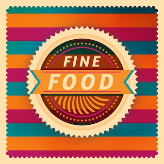 Fine food background