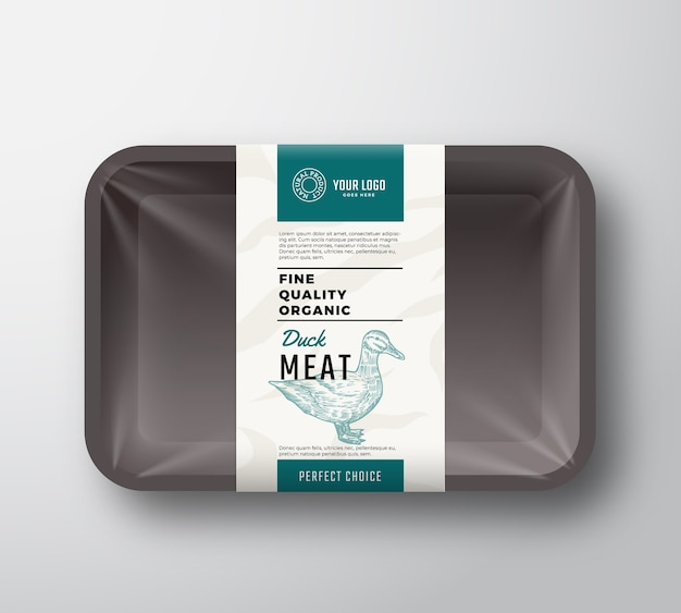 Fine quality meat container