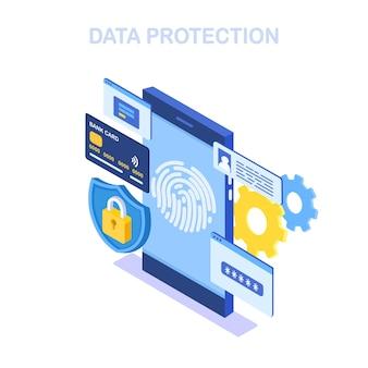 Fingerprint scan to mobile phone
