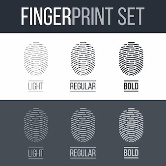 Fingerprint set