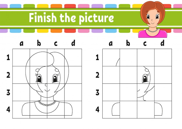 Finish the picture.