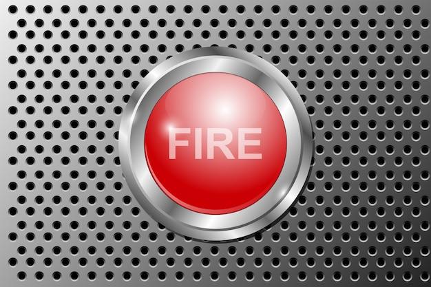 火災警報プッシュボタン