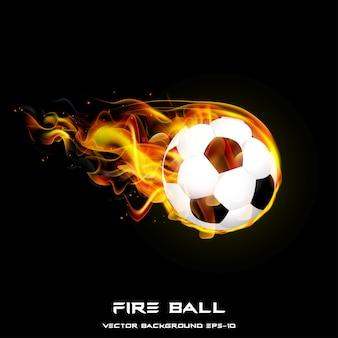 Fire ball. styles design