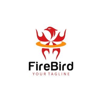 Fire bird logo