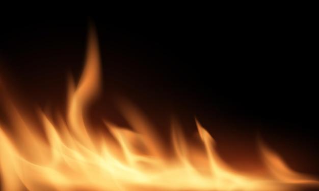 火を燃やす赤いホットスパーク現実的な抽象的な背景