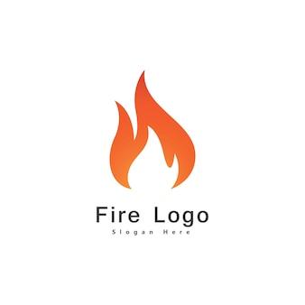 火炎ロゴデザインベクトルテンプレートドロップシルエット。クリエイティブドロップレットバーンエレガントな焚き火のロゴタイプ火のロゴのコンセプトアイコン。