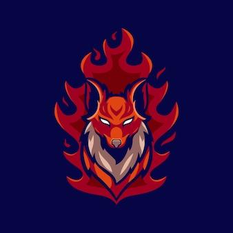 Fire foxロゴのアイデア