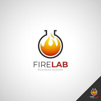 Логотип fire lab
