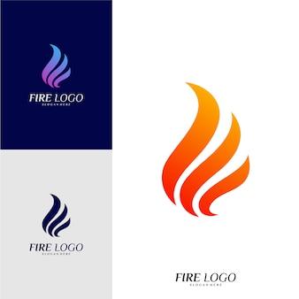 Fire logo design concepts