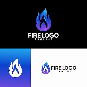 Fire logo templates