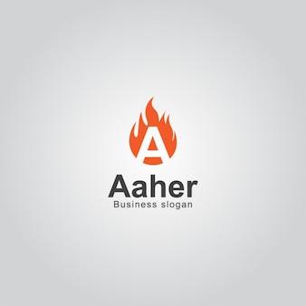 Огонь буква a