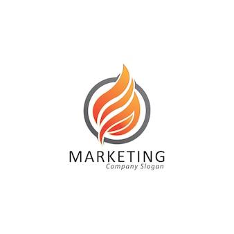Логотип огня
