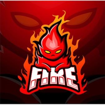 Огненный талисман киберспорт