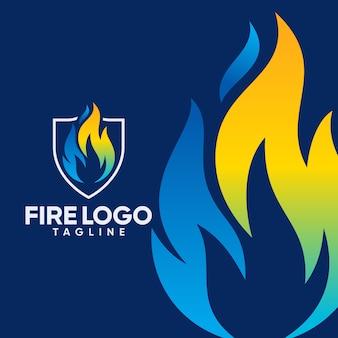 Шаблоны логотипов fire