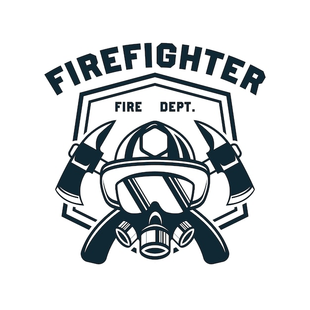 firefighters vectors photos and psd files free download rh freepik com firefighter logos and designs firefighter logo clipart