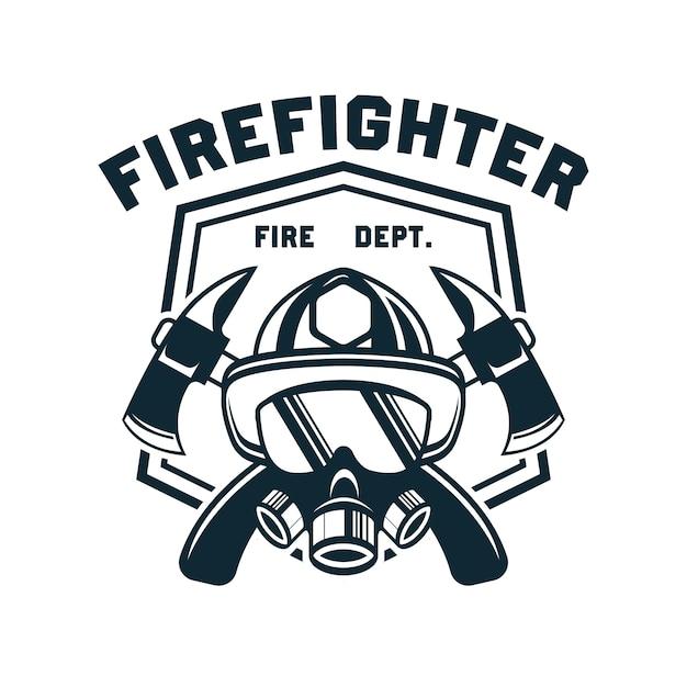 firefighters vectors photos and psd files free download rh freepik com chicago fire dept logo vector fire department logo vector download