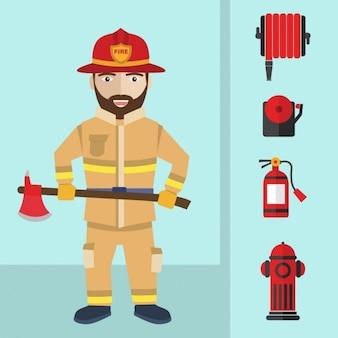 Fireman equiment design