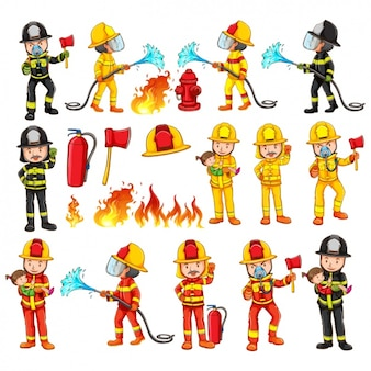 Firemen collection