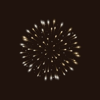 Fireworks background design
