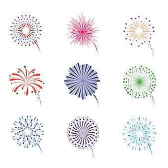 Fireworks display set