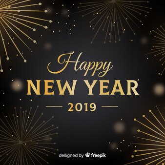 Фейерверк новый год 2019 фон
