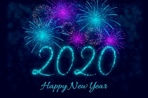 Fireworks new year 2020