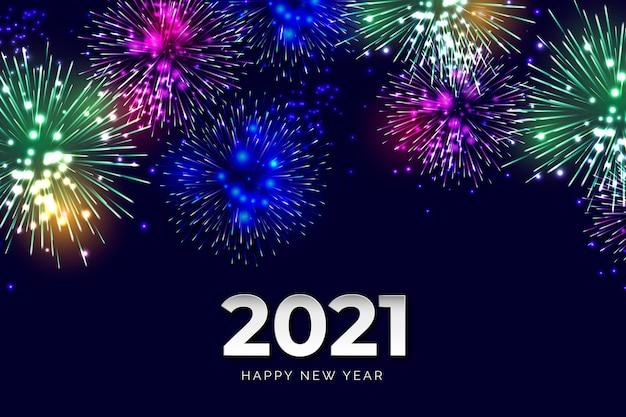Fireworks new year 2021