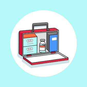 Аптечка - векторный клипарт