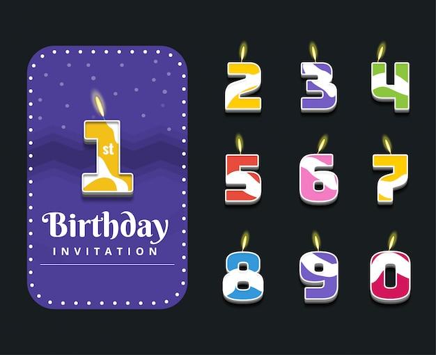 First birthday greeting